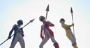Idol Squadron Triple Lancers - The Lancer Suit Destroyed002