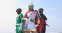 [OVER-15] Super Heroine Violence - Science Team Bird Soldier White001