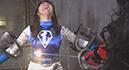 Earth Fighter -Blue Mermaid VS Female Cadre Mistress Rozenda004