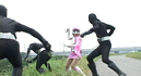 Super Heroine Jr. Saves the Crisis !! Beautiful Soldier Aurora Pink017