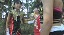 Super Heroine Jr.Saves the Crisis !! 2 Demonic Mates Double Zarahn010