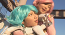 Fashionable Warriors Peach & Marin Future013